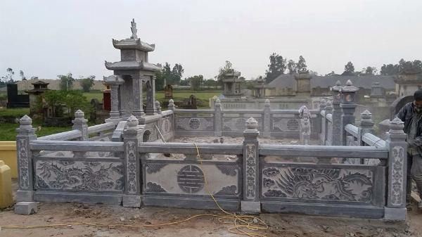 Mẫu lăng mộ đá đẹp ninh vân ninh bình